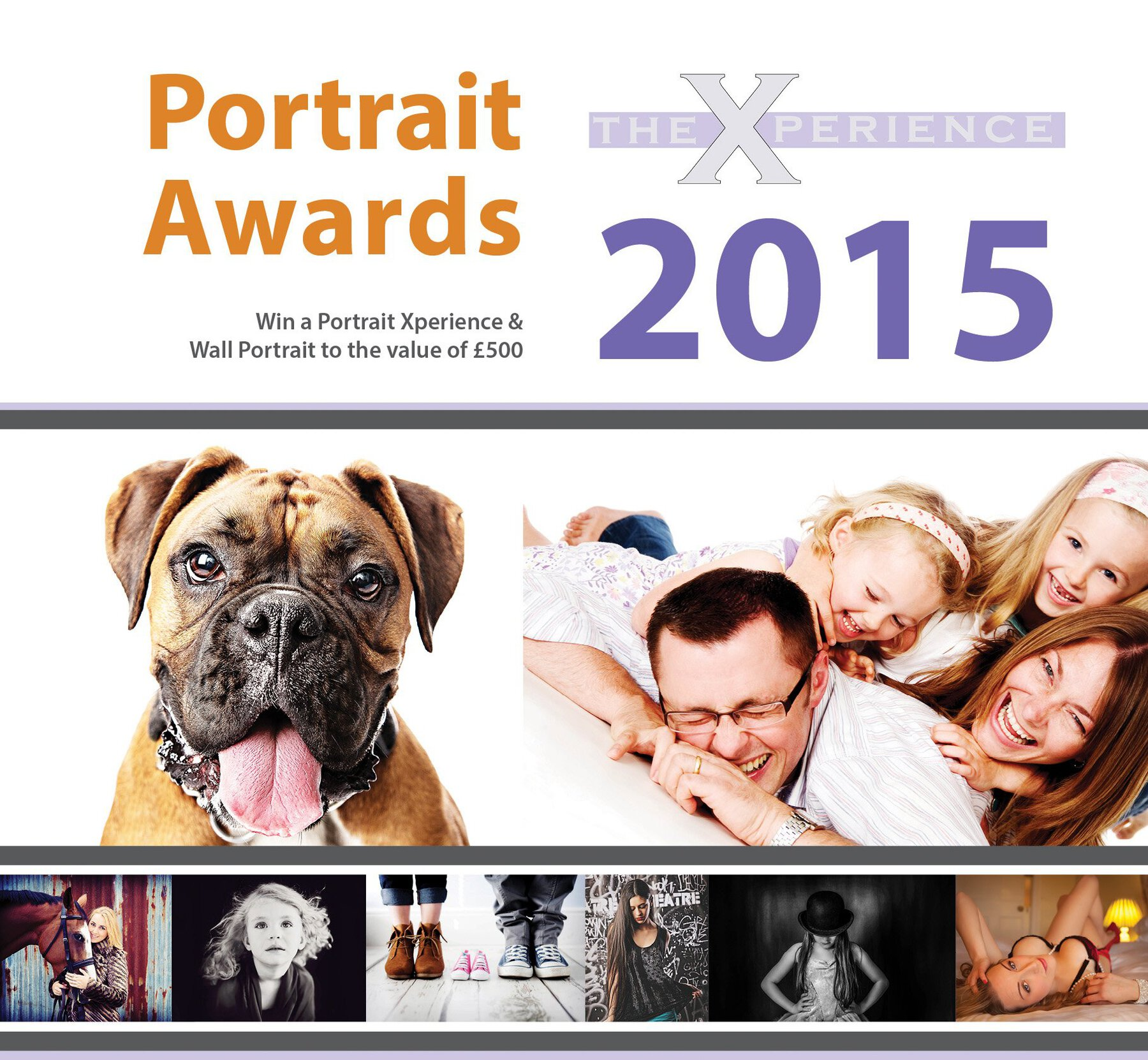 The Xperience Portrait Awards 2015 as a unique chance to win £500 of your favourite family portrait by Cacchioli Photography